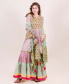 Lime Green Hand Block Printed Suit Set with Dupatta
