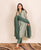 Sage Green Hand Block Printed Chanderi Suit Set