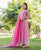Blush Pink Embroidered Dress with Dupatta