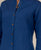Indigo Linen Button down Shirt