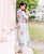 White and Pink Designer Kurta with Straight Pants