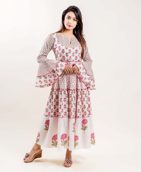 buy indo western dresses for women online shopping