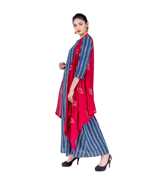 buy indo western gowns