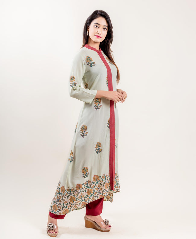 buy indo western suits online shopping for women