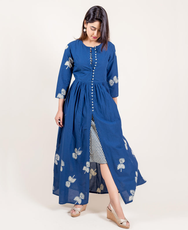 designer indo western dress for women