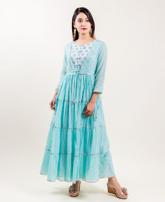 designer indo western dress for women and girls online