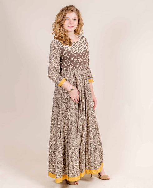designer indo western for ladies