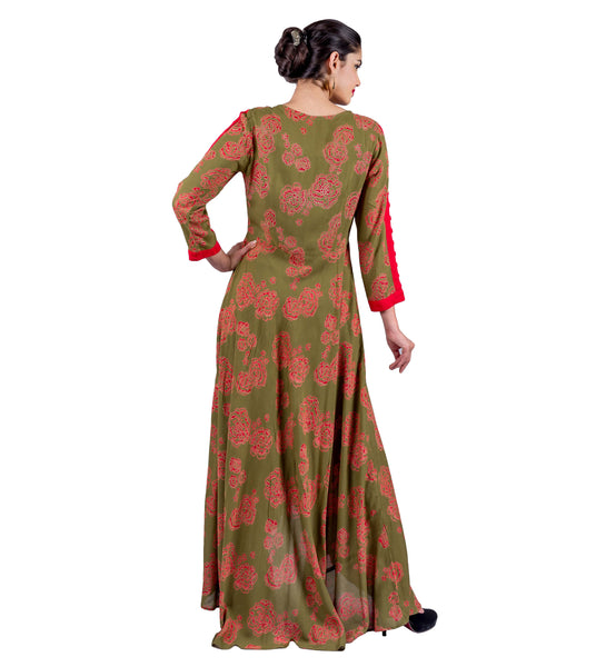designs for indo western dresses
