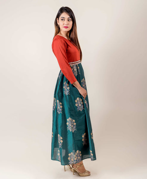 designs of indo western dresses