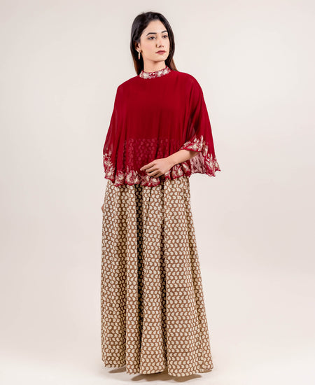 Chic Showstopper Embroidered Long Dress