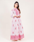 floor length indo western dresses