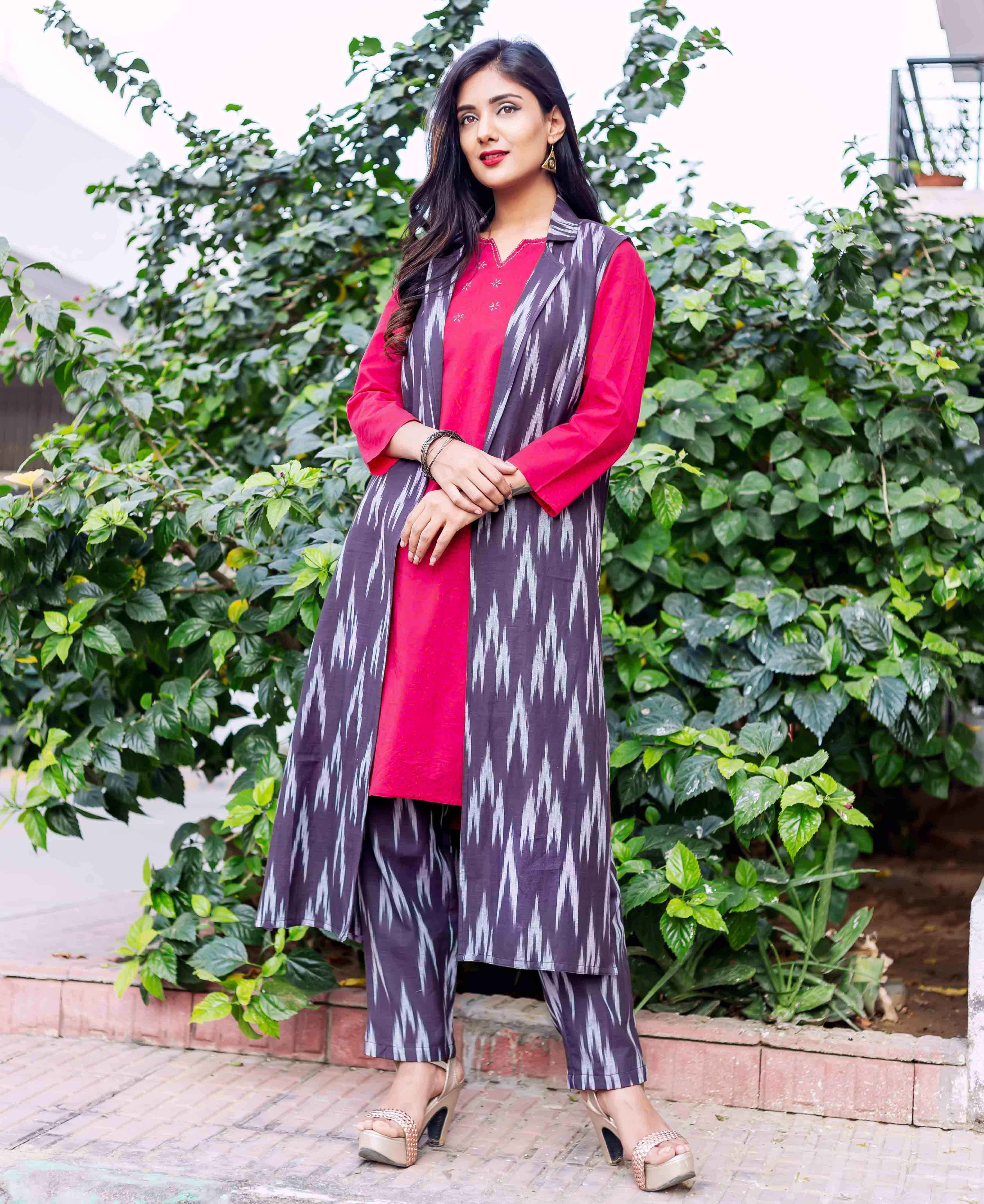 hand block printed kurta online shopping