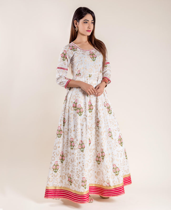 Indo Western Gowns - Exclusive Long Designer Gown for Women Online