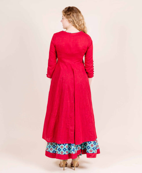 indo western ladies wear