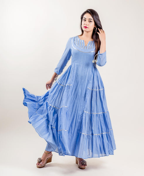 ladies indo western dresses online shopping