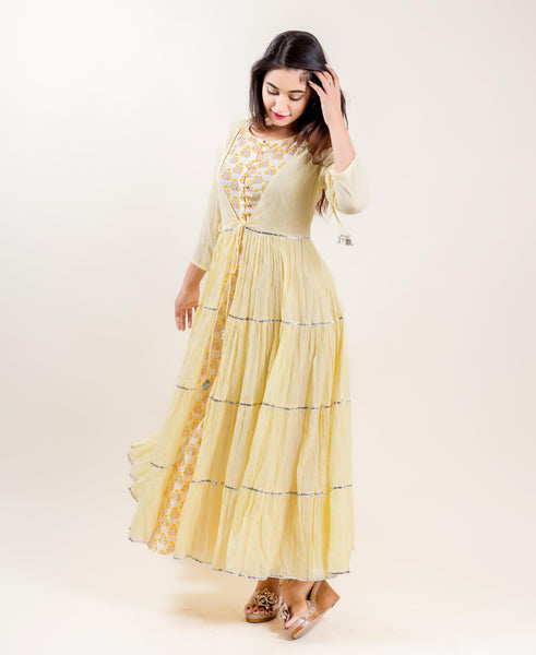 latest indo western dresses