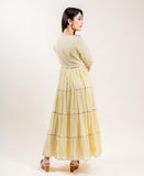 long indo western dress design for women and girls online