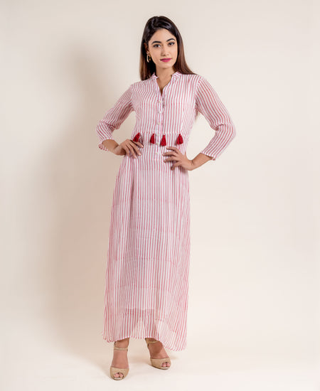 Multi Block Nancy Dress