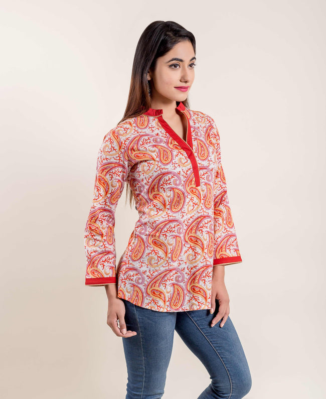 online shopping of tops and kurtis