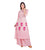 Peach / Pink Hand Block Print Indo Western Kurta with Matching Skirt