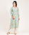 Embroidered Mint Green Chanderi Suit Set