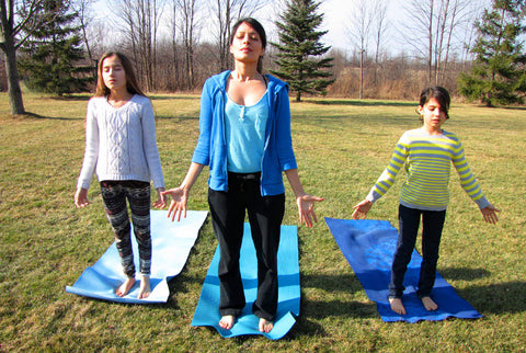 Mountain Pose - Valentine's Day Yoga-Love for Planet Earth, Tall Earth blog