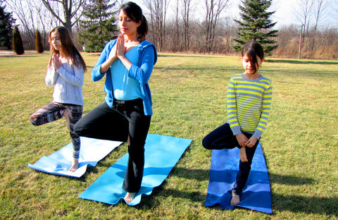 Tree Pose - Valentine's Day Yoga-Love for Planet Earth, Tall Earth blog