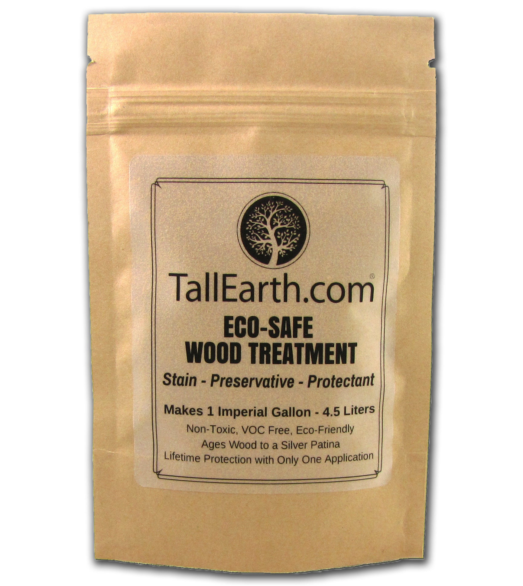 ECO-SAFE Wood Treatment - Non-Toxic Stain & Preservative - 1, 3