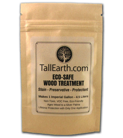 ECO-SAFE Wood Treatment (Canadian packaging) - Non-Toxic Stain & Treatment - 1, 3 & 5 Gallon Sizes
