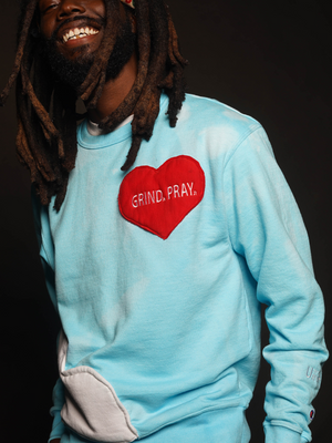 SZN 1 Cloud Heart Sweatshirt