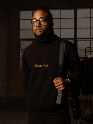 SZN 1 Zip-Up Tall Neck Sweatshirt