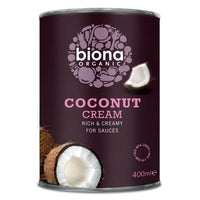 Biona Coconut Cream 400ml - 400ml - Biona