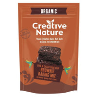 Creative Nature Org Chia and Cacao Brownie Mix 400g - 400g -