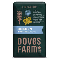 Doves Farm Einkorn Wholemeal Flour 1kg - 1kg - Doves Farm