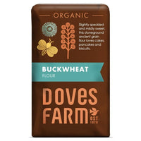 Doves Farm Org Buckwheat Flour (non GF) 1kg - 1kg - Doves