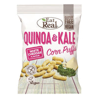 Eat Real Quinoa Kale Puffs Cheese 113g - 113g - Eat Real