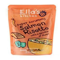 Ellas Kitchen S3 Salmon Risotto 190g - 190g - Ellas Kitchen