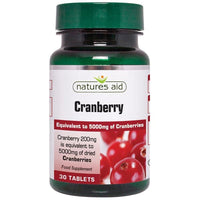 Natures Aid Cranberry 200mg 30 tablet - 30 tablet - Natures
