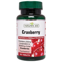 Natures Aid Cranberry 200mg 90 tablet - 90 tablet - Natures