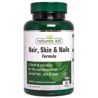 Natures Aid Hair Skin & Nails 90 tablet - 90 tablet -