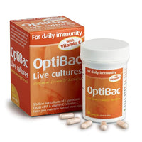 Optibac Probiotics For Daily Immunity 30 Capsules - 30