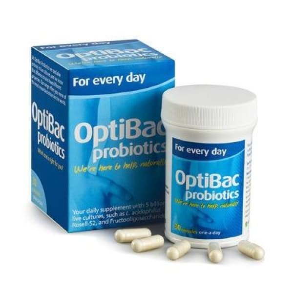 Optibac Probiotics For Every Day 30 or 90 Capsules