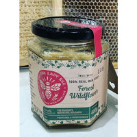 The Pink Lady Bee 100%Raw Honey ForestWildflower 400g - 400g