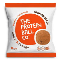 The Protein Ball Co Cacoa & Orange Protein Balls 45g - 45g -
