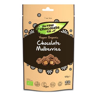 The Raw Chocolate Company Raw Chocolate Mulberries 125g -