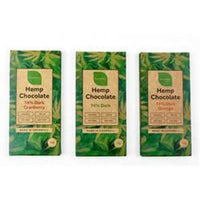 Themptation Cranberry Hemp Chocolate Bar 70g - 70g -