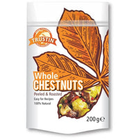 Trustin Foods Whole Chestnuts 200g - 200g - Trustin Foods