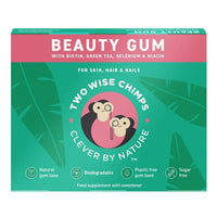 Two Wise Chimps Beauty Gum Ice Mint 9pieces - 9pieces - Two