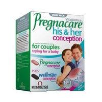 Vitabiotics Pregnacare His & Hers 60 tablet - 60 tablet -