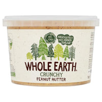 Whole Earth Crunchy Peanut Butter 1000g - 1000g - Whole